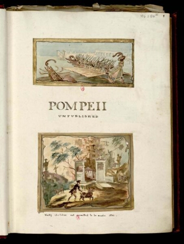 [William Gell. Pompei,... . Tome 2]