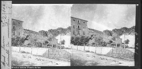 Mont-Cassin. Ensemble du monastère
