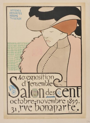 [Salon des Cent. Octobre-novembre 1899]