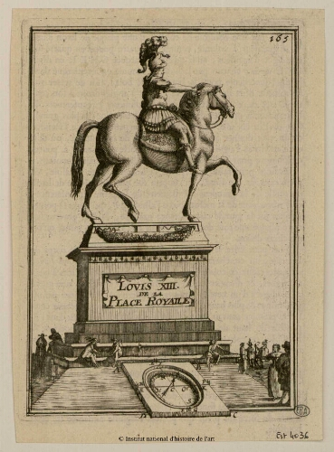 Louis XIII de la Place Royalle