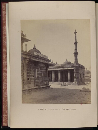 Photographs of architecture and scenery in Gujarat and Rajputana