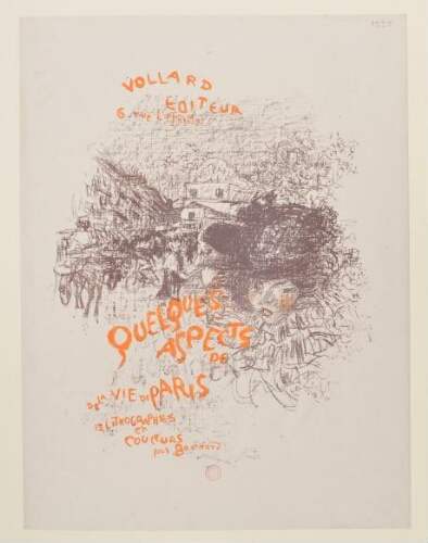 [Quelques aspects de la vie de Paris : Couverture de l'album]