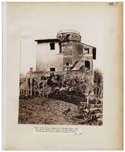 [Albums John Henry Parker (1864-1877). 23 : Tombe, Via Appia]