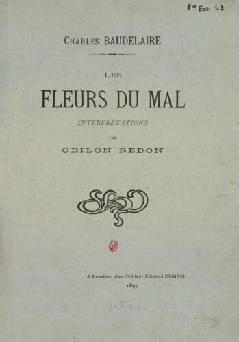 Charles Baudelaire Les Fleurs Du Mal