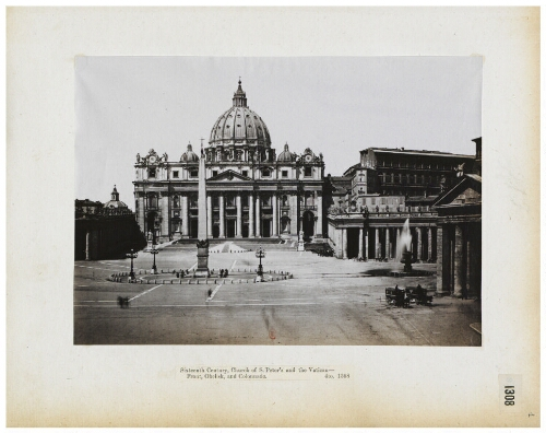 [Albums John Henry Parker (1864-1877). 1 : S. Pietro, S. Maria Maggiore, S. Clemente]